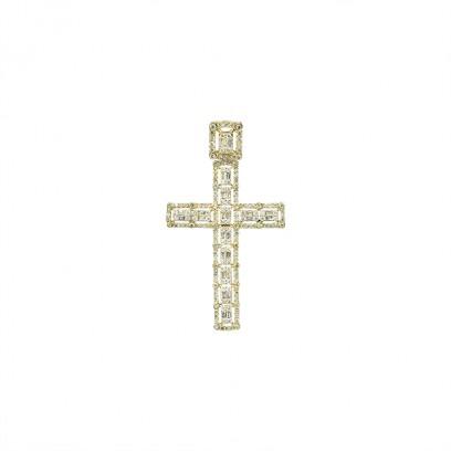 Diamond Cross S - Or 10K