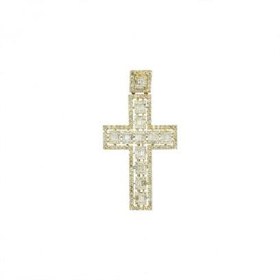 Diamond Cross M - Or 10K